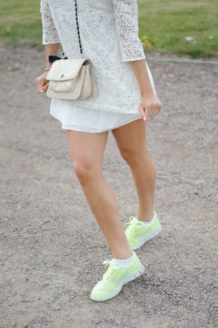 Malin vit Zara klänning-10