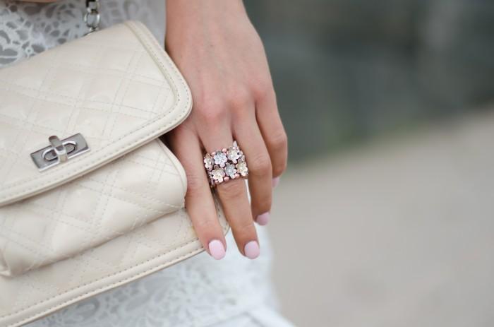 Malin vit Zara klänning-11