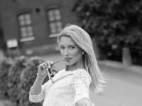 Malin vit Zara klänning-19