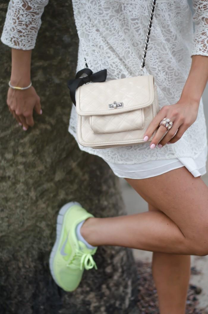 Malin vit Zara klänning-4