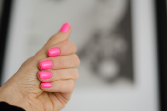 China Glaze_Pink Voltage-7